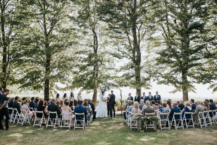 cerimonia sul prato