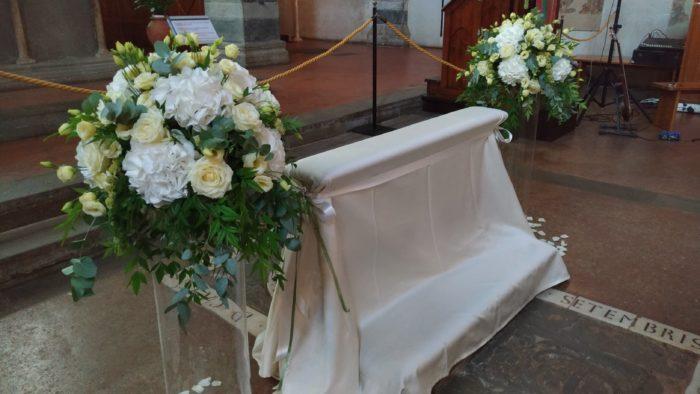 Lato sposi Chiesa elegante