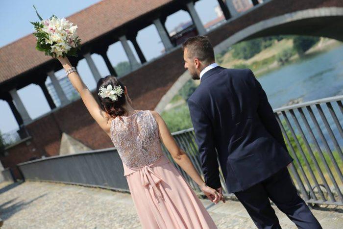 viva gli sposi a Pavia