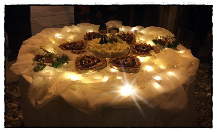 Presentazione Wedding cake