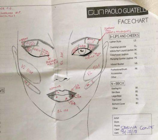 progetto make-up