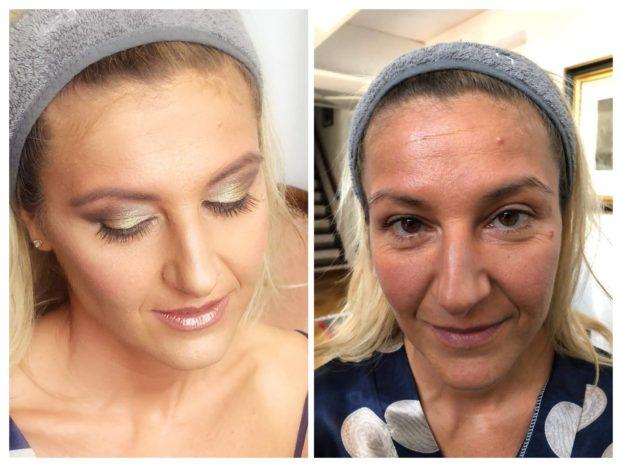 make up aerografato