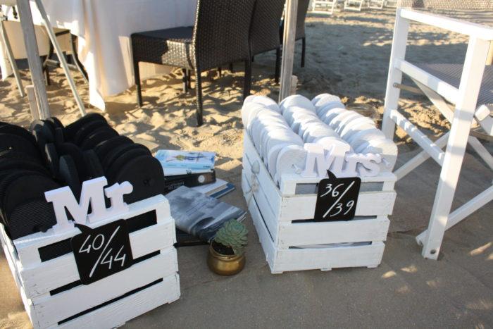 angolo infradito beachwedding