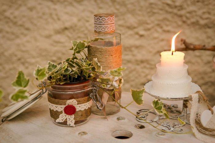 Candele e decorazioni