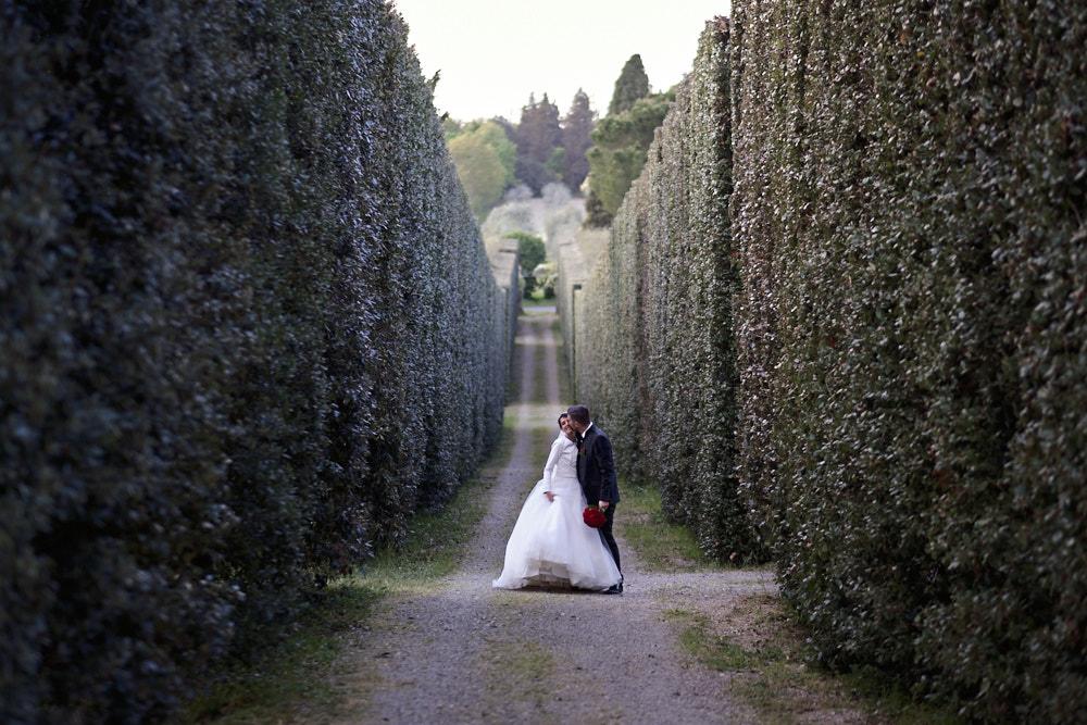 Giacomo e Angelica, Siena