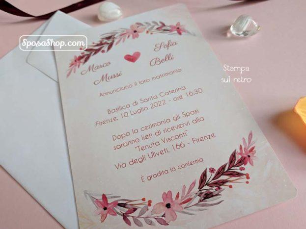 partecipazioni nozze 130