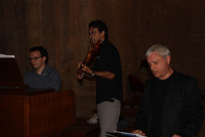 con Violinista Oscar Di Raimo