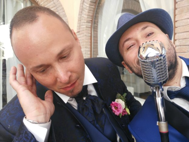 Dan e lo sposo DJ
