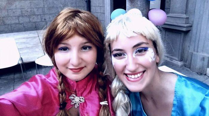 Elsa e Anna!