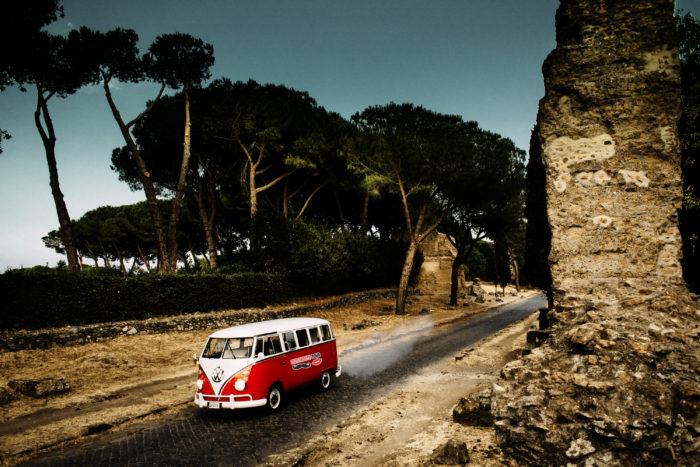 furgone vintage van
