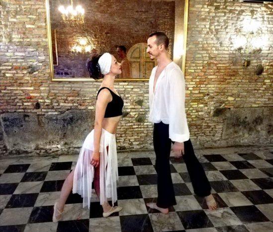 Spettacolo di ballo