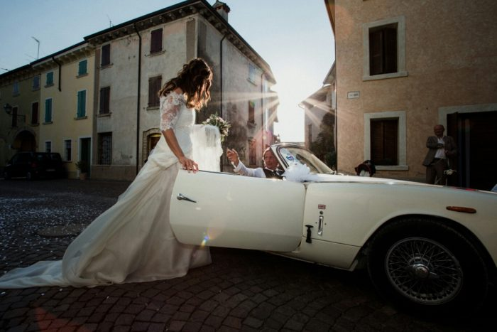 Matrimonio in Auto D'epoca