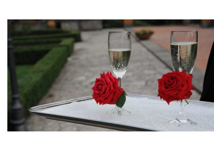 Rose rosse per i nostri sposi