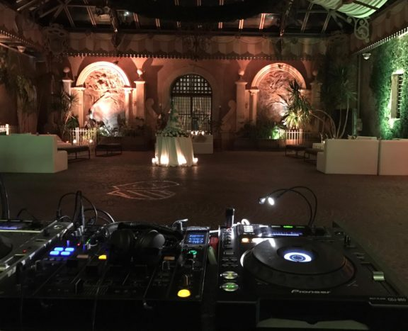 Setup in the castle