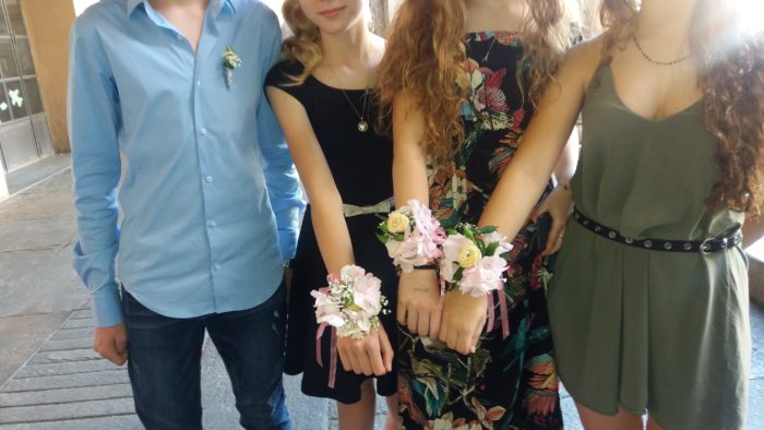 bouquet da polso