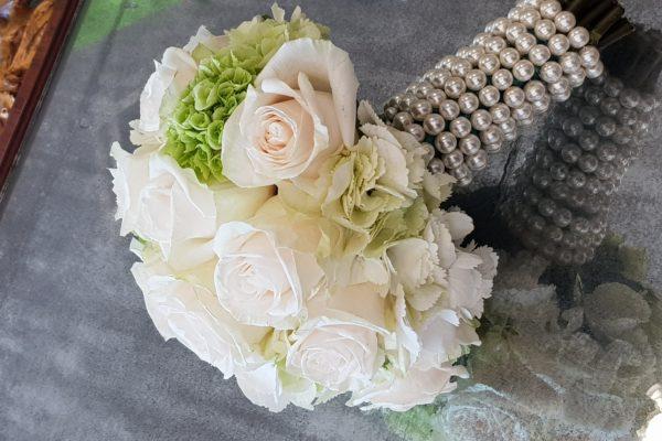 bouquet con perle