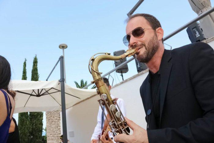 Un sassofonista live (2015)