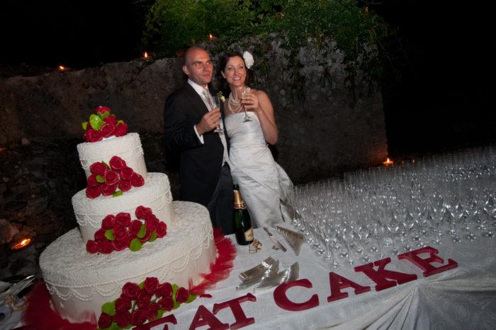 Wedding Red Cake