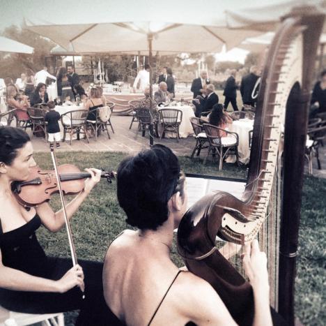 Aperitivo con Arpa e Violino