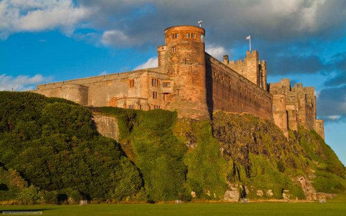 Castello Bamburgh Inghilterra