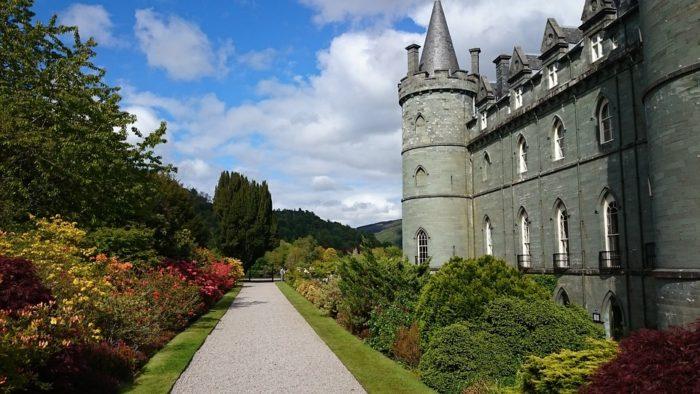 Castello Inveraray Scozia
