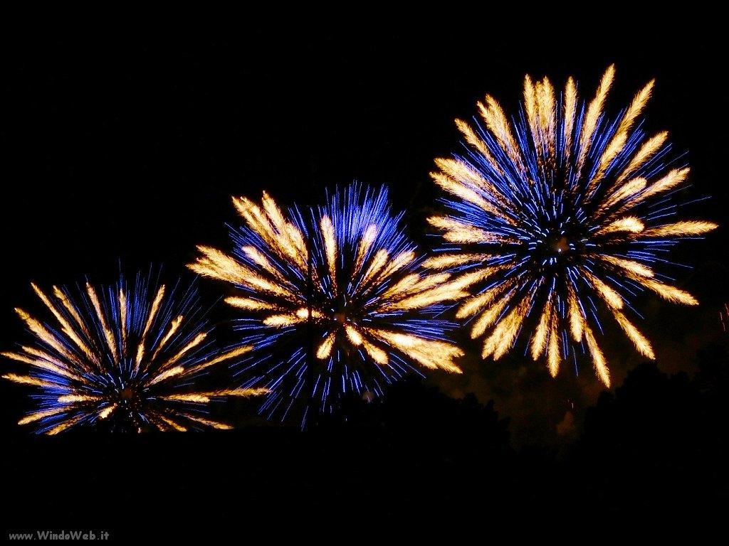 Sfondi desktop fuochi d'artificio
