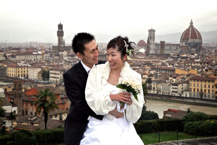 Sposi a Firenze