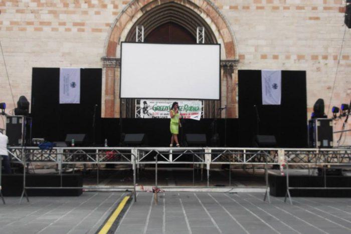 Muriel e service palco