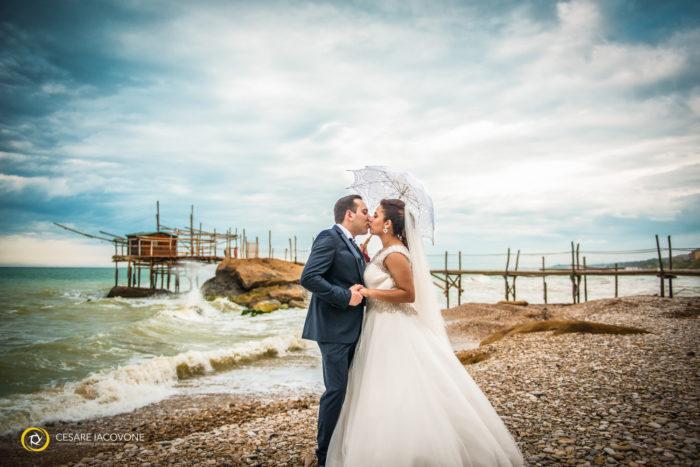 Wedding al trabocco