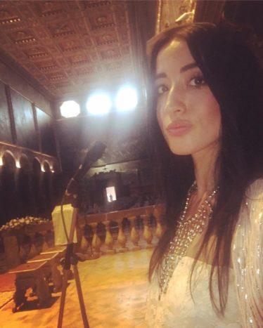 Muriel cantante chiesa Perugia
