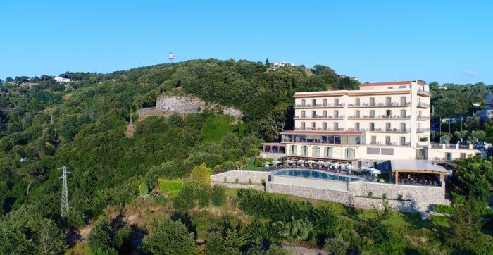 Hotel dall'alto