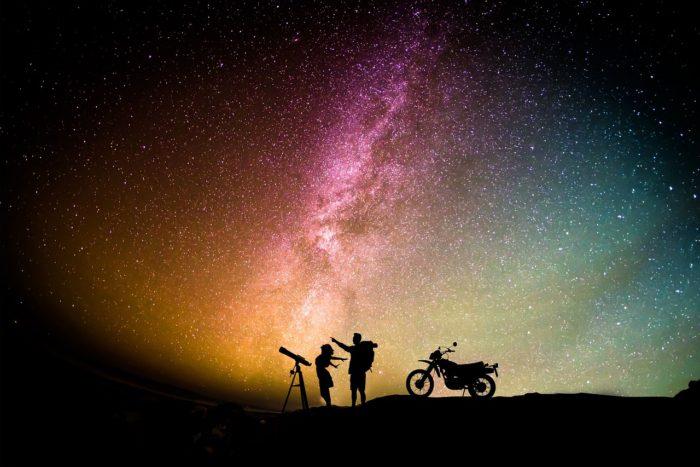 Notti stellate insieme
