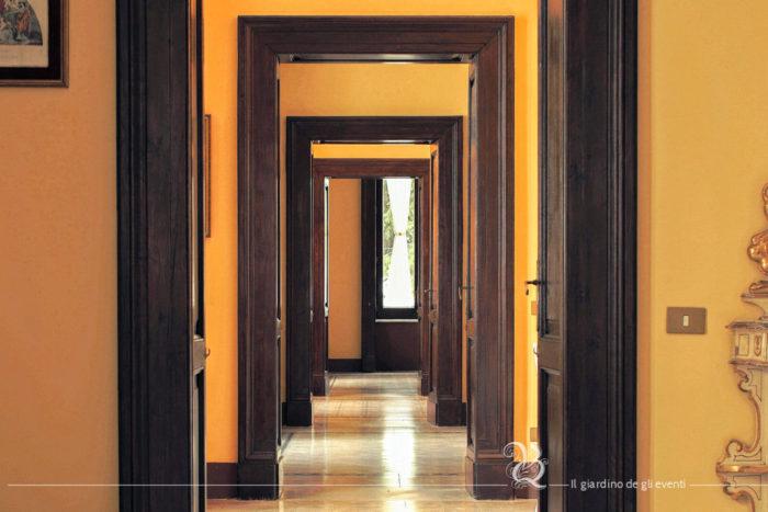 Villa Quintieri - gli interni