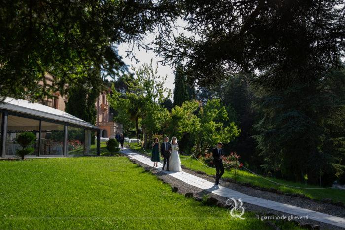 Villa Quintieri - il giardino