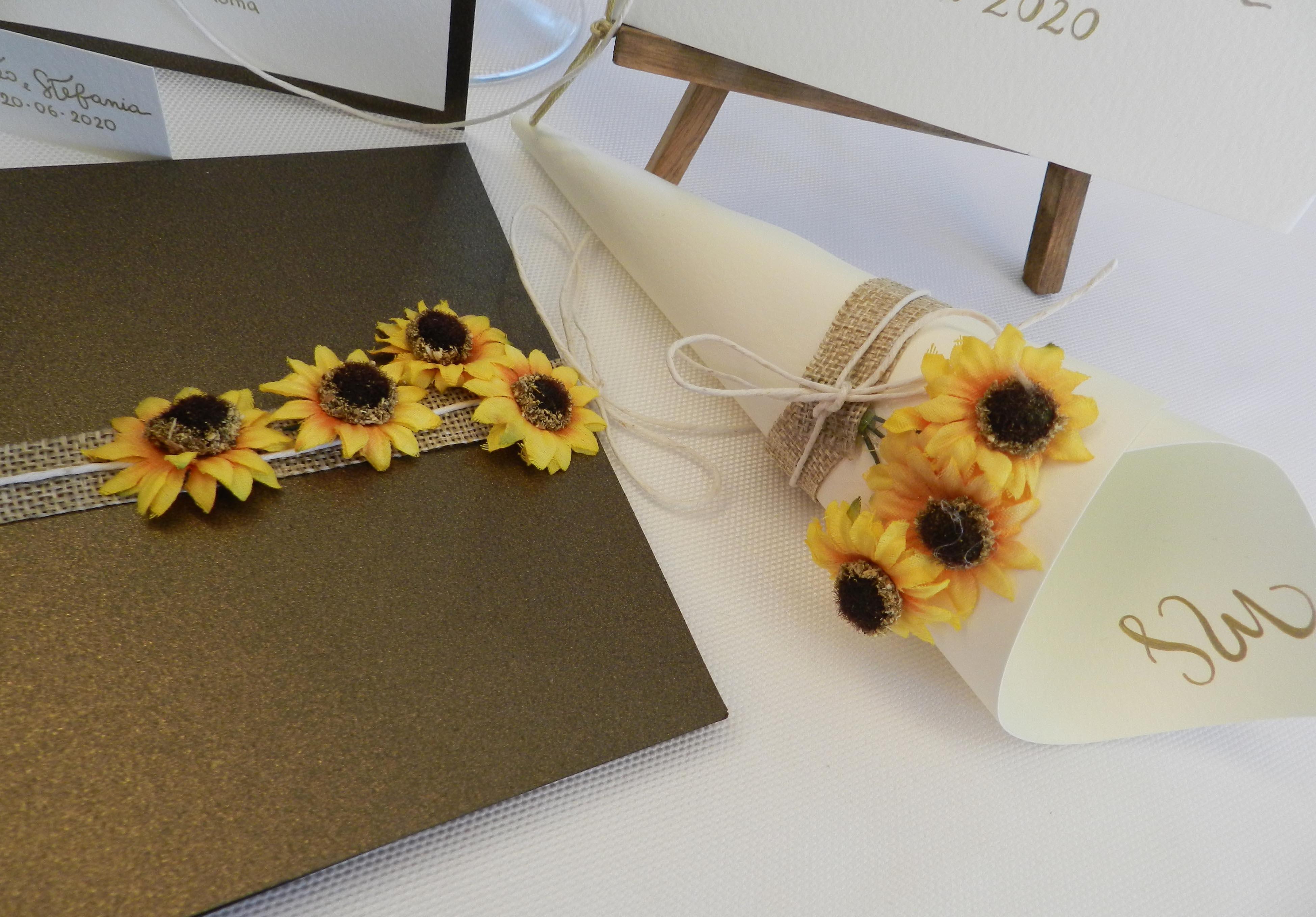 Inviti Matrimonio Girasoli : Matrimonio a tema girasoli original wedding