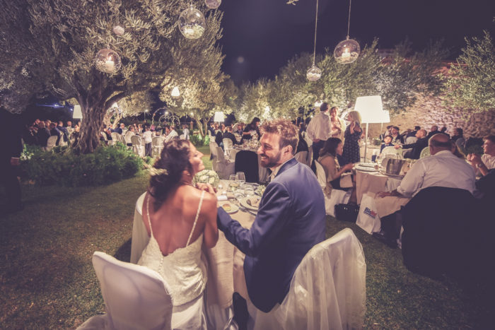 Matrimonio tra gli ulivi