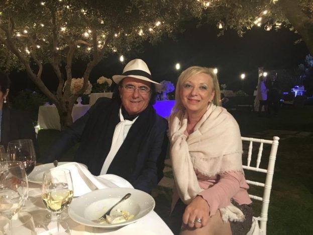 Simonetta con Al Bano
