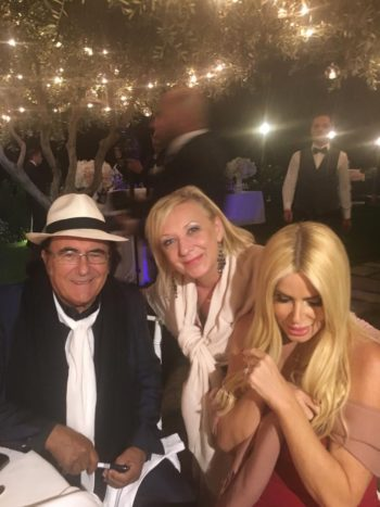 Simonetta con Al Bano/Lecciso