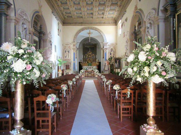 decorazione navata religiosa