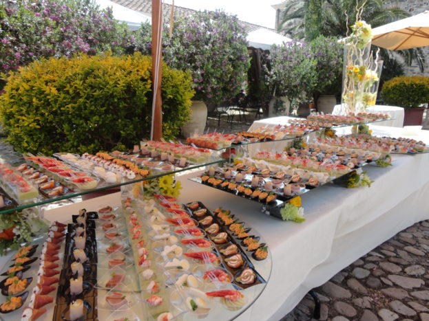 buffet finger-food in Corte