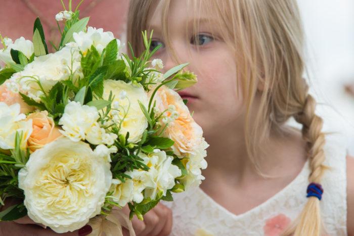 bouquet con aromatiche