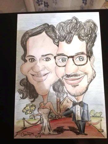 Matrimonio caricature