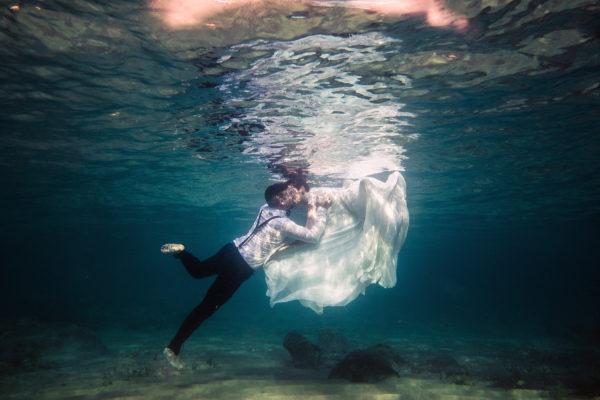 Underwater in Cala Burantì