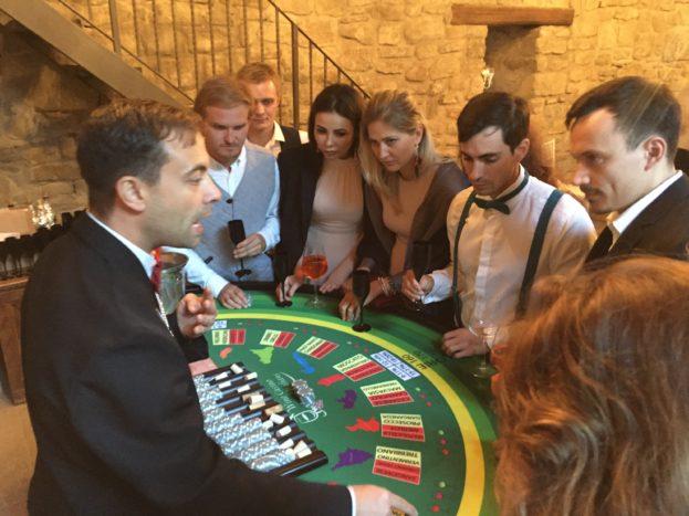 Wine Casino degustazione