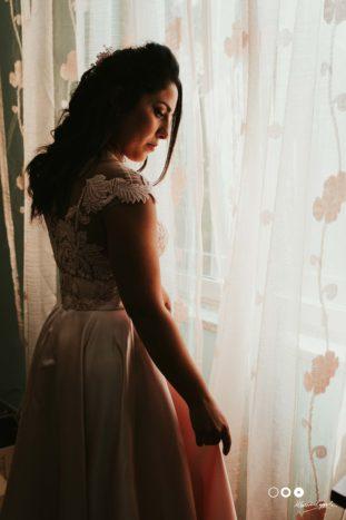 The Bride moment