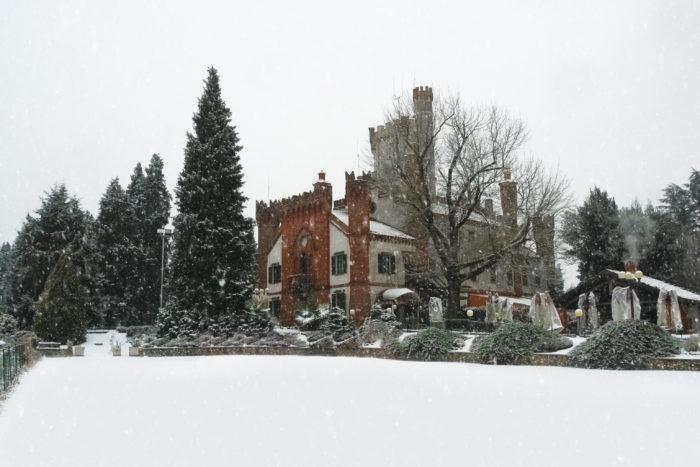 La Tenuta con la neve