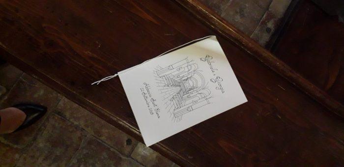 Libretto messa disegno Chiesa