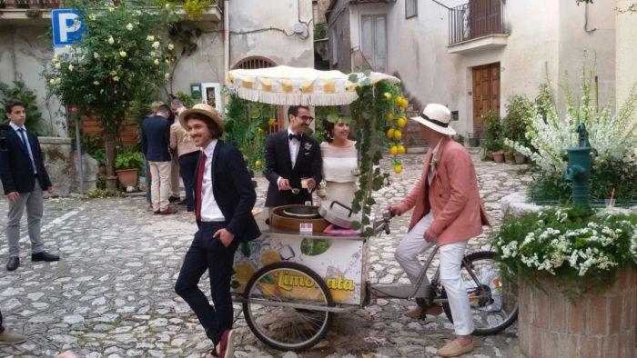 Limonata con triciclo