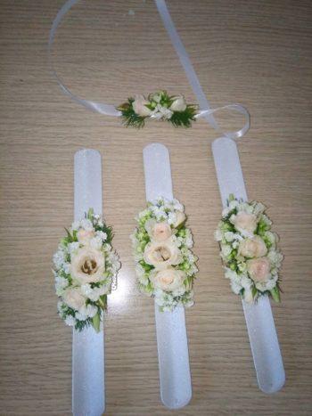 bracciale floreale