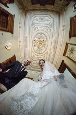 Sposi nel piano nobile